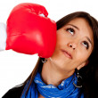 Boxing punch — Stock Photo