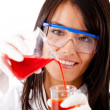 Female chemist — Stock Photo #7756303