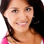 Beautiful girl smiling — Stock Photo #7756310