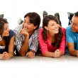Group of friends — Stock Photo #7756391