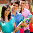 Group of students — Stock Photo #7756397