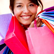 Shopping woman — Lizenzfreies Foto