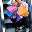 Shopping couple — Stock Photo #7756504