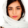Woman with headscarf — Stock Photo #7756554