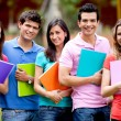 Group of students — Stock Photo #7756598