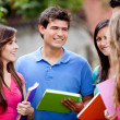 Group of students — Stock Photo #7756600