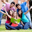 Group of students — Stock Photo #7756609