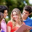 Group of students — Stock Photo #7756648