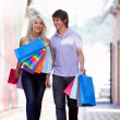 Shopping couple - Lizenzfreies Foto