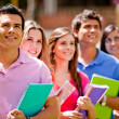 Group of students — Stock Photo #7756765