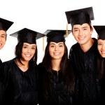 Group of graduates — Stock Photo