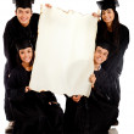 Group of graduates — Stock Photo #7756780