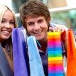 Shopping couple — Stock Photo #7756816
