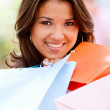 Shopping woman — Stock Photo #7756837
