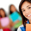 Female student smiling — Stock Photo #7756961