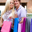 Shopping couple — Stock Photo #7756979