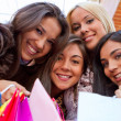 Happy shopping women — Stock Photo #7757057