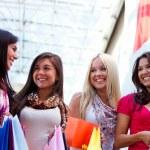 Happy shopping women — Stock Photo #7757058