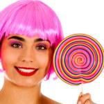Lollipop girl — Stock Photo #7757078