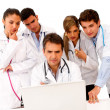 Group of doctors — Stock Photo