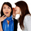 Telling a secret — Stock Photo