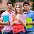 Group of students — Stock Photo #7757168