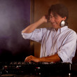 Royalty-Free Stock Photo: DJ playing music