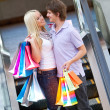 Shopping couple - Foto Stock