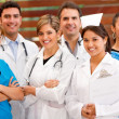 Stock Photo: Group of doctors