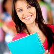 Female student — Stock Photo #7757332