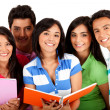 Happy group of students — Stock Photo #7757336