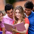 Group of students — Stock Photo #7757337