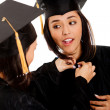Graduates getting ready — Stock Photo