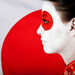 Japanese woman — Stock Photo