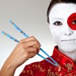 Japanese woman - Stock Photo