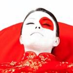 japoński kobieta — Zdjęcie stockowe