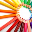 colour pencils — Stockfoto #7757579