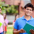 Male student smiling — Stock Photo #7757649