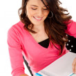 Woman studying — Foto Stock