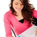 Woman studying — Stock Photo #7757824