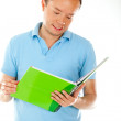 Man studying — Stock Photo