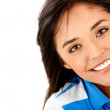 Beautiful woman smiling — Stock Photo