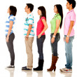 Casual queuing — Stock Photo #7757911