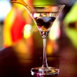 Stock Photo: Martini drink