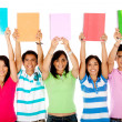Group of students — Stock Photo #7758099