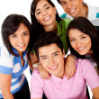 Happy group of students — Stock Photo #7758104