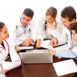 DoctorÕs meeting — Stock Photo