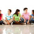 Group of friends talking — Stock Photo #7758289