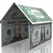 Stock Photo: 3D dollar house