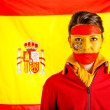 Spanish woman — Stock Photo